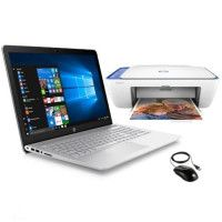 HP PC Portable Pavilion Notebook 15-cc520nf - 15,6 FHD - i7-7500U - 8Go de Ram + 512GoSSD - GeForce 940MX + imprimante + souris
