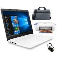 HP PC Portable Notebook 15-da0008nf- 15,6HD - Intel Core i3-702OU - 4Go de Ram + Stockage 500Go + imprimante + souris + housse