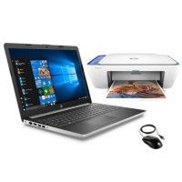 HP PC Portable 15-da0042nf - 15,6HD- Intel Core i3-7020U- 8Go de Ram + Stockage 1To + 128Go SSD + imprimante + souris