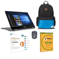 Pack PC portable ASUS VivoBook Flip TP401MA-BZ088T + MICROSOFT office + NORTON antivirus + LOGITECH Souris + TARGUS Sac a dos