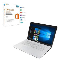 Pack ASUS PC Portable F751NA-TY018T 17,3 + Office 365 Personnel
