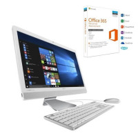 Pack ASUS PC Tout-en-Un V221IDUK-WA032T 21,5 + Office 365 Personnel