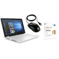HP PC Portable HP15bs113nf - 15.6 - RAM 4Go - Core i5-8250U - Intel HD 620 - Stockage 1To + Souris Filaire X900 + Office 365