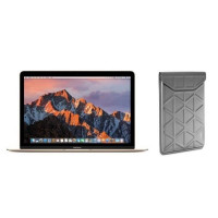 APPLE MacBook MNYK2FN/A - 12 - Intel Dual Core M3 1.2GHz - Stockage 256 Go - Or + TARGUS Housse - Argent