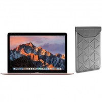 APPLE MacBook MNYN2FN/A - 12 - Intel Dual Core i5 1.3GHz - Stockage 512 Go - Rose Gold + TARGUS Housse - Argent