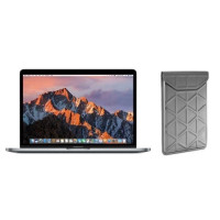 APPLE MacBook Pro MPXQ2FN/A - 13 Intel Dual Core i5 2.3GHz - Stockage 128Go - Gris Sideral + TARGUS Housse - Argent