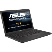 ASUS PC Portable FX753VE-GC092T  - NVIDIA GeForce GTX 1050Ti - 17,3 - RAM 8Go - Core i7-7700HQ - Stockage 128Go SSD + 1To