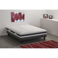 DEKO DREAM Matelas 160 x 200 - Mousse - Ferme - ASTON