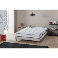 DEKO DREAM Matelas 140x190 cm - Latex - 15 cm - Ferme - ERGOFRESH