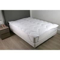 DODO Surmatelas 140 x 190 - Polyester fibre haute technologie - Moelleux - CONTRY
