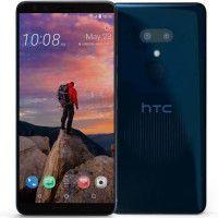 HTC U12+ - Double SIM - 64 Go - Bleu transparent