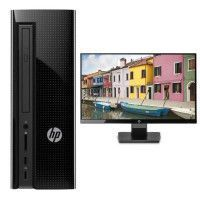 HP PC de Bureau 260a120nf - 4Go de RAM - AMD E2-7110 - AMD Radeon R2 Graphics - Disque dur 1To + Ecran 22 FHD