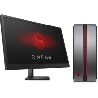 HP PC de Bureau Omen 870-121nf - RAM 8Go - Core i5-6400 - NVIDIA GeForce GTX 1060 - Stockage 128Go SSD + 1To + Ecran Omen 25 144
