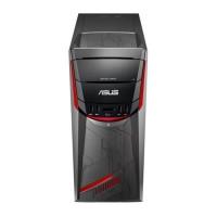 ASUS PC de Bureau G11CD-K-FR029D - Core i5-7400 - RAM 8 Go - Stockage 256 Go SSD + 1 HDD - GTX 1060 6Go