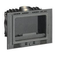 INVICTA Foyer 700 Eco en fonte - 8 kW - Buches : 50 cm - Rendement : 75 % - Flamme Verte 6* - Classe energie A - Fabrique en FRA
