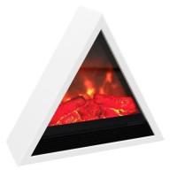 CARRERA Kheops 1800 watts Cheminee electrique pyramidale decorative et chauffage dappoint
