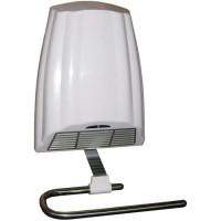 AIR IDEAL Radiateur seche serviette electrique soufflant 2000 watts - 2 vitesses - Porte serviette