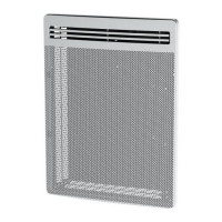 CARRERA Rayonnant LCD 1500 watts Vertical - Radiateur electrique panneau rayonnant programmable