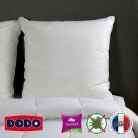 DODO Oreiller Grand luxe Quallofil Allerban 60x60 cm blanc