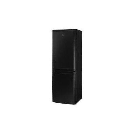 INDESIT NCAA 55 K - Refrigerateur congelateur bas - 217L 150+67 - Froid statique - A+ - L 55cm x H 157cm - Noir