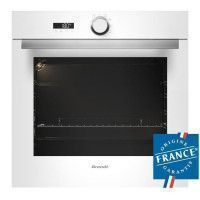 BRANDT BXP5132W - Four electrique encastrable a convection naturelle - 68L - Pyrolyse - A - Blanc