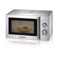 SEVERIN MW 7869 micro-ondes grill inox brosse - 22 L - 900 W - Grill 1000 W - Pose libre