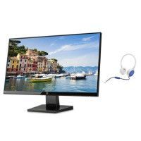 Pack HP Ecran 24w - 24 FHD 1 920 x 1 080 a 60 Hz - 5 ms - 250 cd/m2 + HP Casque stereo avec micro