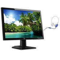 Pack HP Ecran 20kd 19,5 - 1440x900 a 60Hz - dalle IPS + HP Casque stereo avec micro