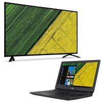 ACER EB490QK - Ecran 48,5 - Dalle IPS - 4ms - DisplayPort/VGA/HDMI + PC Portable Aspire ES1-523 - 15,6 Offert