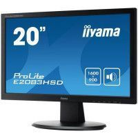 19 - 5 1600x900 - VGA - DVI - Haut-parleurs - 250cd/m2 - 12mln:1 ACR - 5ms - TCO