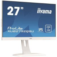 IIYAMA XUB2792QSU-W1 - Ecran 27 WQHD - Dalle IPS - 5ms - DisplayPort / HDMI / DVI - AMD FreeSync