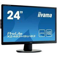 IIYAMA Ecran 24 - Full HD AMVA - LED - 4 ms - 75Hz