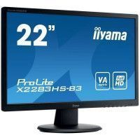 IIYAMA Ecran Prolite X2283HS-B3 22 FHD - Dalle VA LED - 4ms - 75 Hz - Display port/HDMI/VGA - ACR