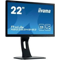 IIYAMA Ecran Prolite XB2283HS-B3 22 FHD - Dalle VA LED - 4ms - 75 Hz - Display port/HDMI/VGA - ACR
