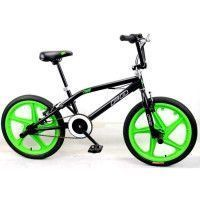 MERCIER Velo BMX Freestyle 20 4 Pegs - Noir et vert