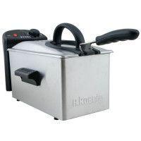 H.KoeNIG DFX300 Friteuse electrique semi-professionnelle - Inox