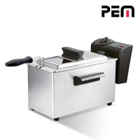 PEM DF-132 Friteuse electrique semi-professionnelle - Inox