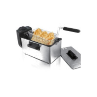 TECHWOOD TFR-300 Friteuse electrique semi-professionnelle - Inox