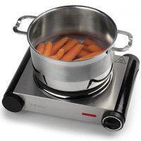 TRISTAR KP-6197 Plaque de cuisson posable en fonte - Inox