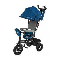 SWIFT Tricycle Bleu - 3 roues - Enfant bebe de 1 a 5 ans poussette evolutif