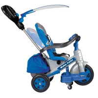 FEBER - Tricycle Evolutif Baby Twist 360 10 Pouces - Bleu