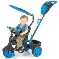 LITTLE TIKES Tricycle Evolutif 4 en 1 Deluxe Edition Neon Bleu