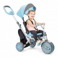 LITTLE TIKES Tricycle Foldn Go 5en1 Trike - Bleu Ciel