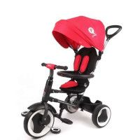 QPLAY Tricycle Evolutif Rito - Pliage compacte - Rouge