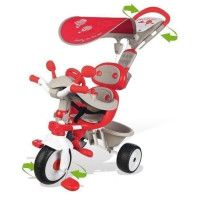 SMOBY Tricycle Baby Driver Confort Evolutif Rouge