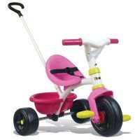SMOBY Tricycle Enfant Evolutif Be Fun Rose