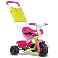 SMOBY Tricycle Enfant Evolutif Be Fun Confort Rose