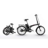 E-ROAD Velo Electrique T-Bike 20 Noir