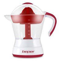 BEPER 90.304H Presse agrumes electrique - 50 cl - 30 W - Blanc et Rouge