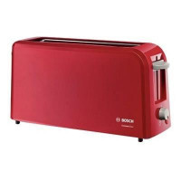 BOSCH TAT3A004 Grille-pain CompactClass - Rouge